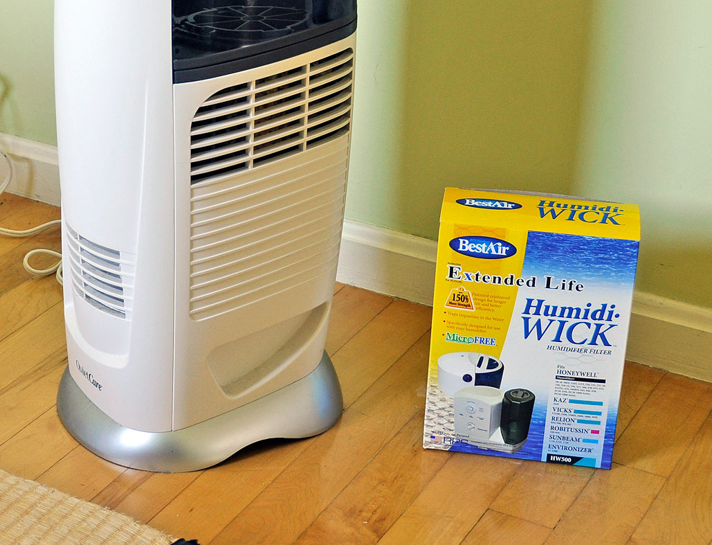 spring cleaning humidifier filter replacement rainydaymagazine. Black Bedroom Furniture Sets. Home Design Ideas