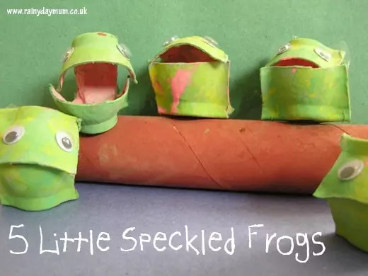 Five Little Speckled Frogs Craft