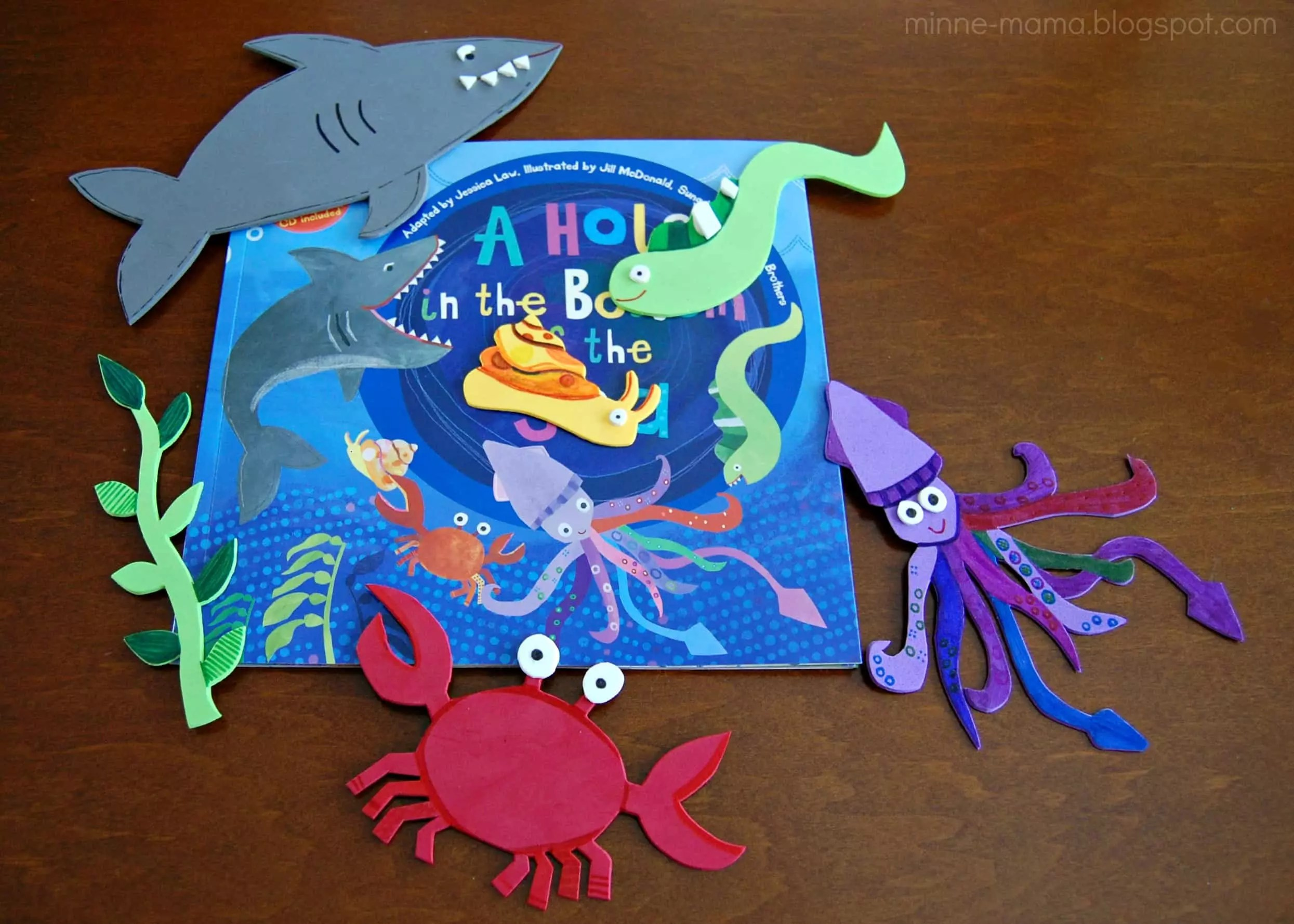 Imaginative Play With A Hole In The Bottom Of The Sea