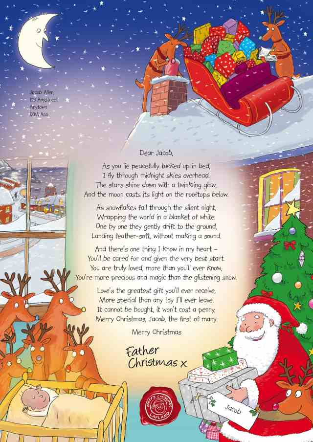 Make Memories with your Kids the NSPCC Personalised Letter from Santa