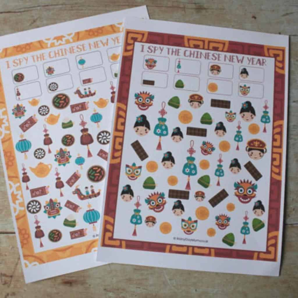 Free Printable Chinese New Year I Spy Activity For Tots