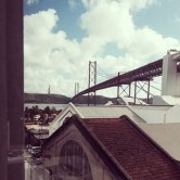 This is my home base, CooworkLisboa. If you're lucky you can rent a desk with this view.
