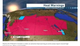 加拿大旅記:熱浪來襲