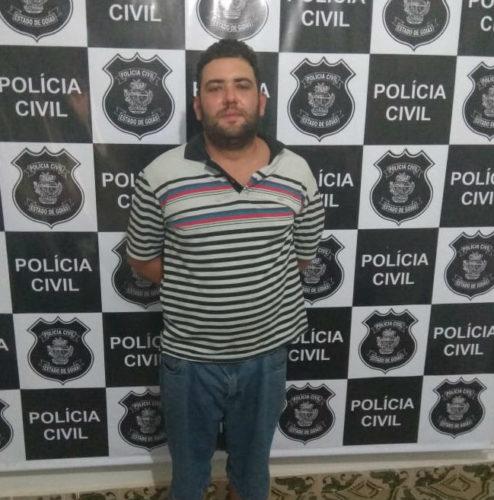 Suspeito de colocar fogo em tenda de ambulantes em Aruanã é preso