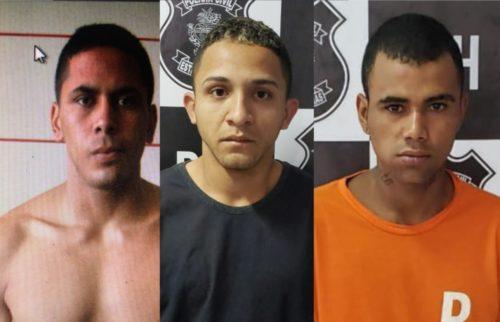 DIH prende três autores por homicídio ocorrido no Jardim Guanabara