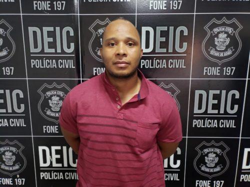Preso condenado por latrocínio em Goiânia que ficou foragido por 17 anos