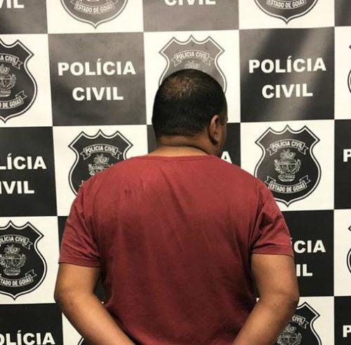 Foragido da Justiça Federal é preso pela Polícia Civil em Senador Canedo