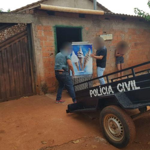 Polícia Civil recupera máquina de sorvete resultado de crime de estelionato
