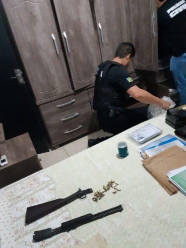 Operação Tanino cumpre mandados em residências e escritórios de Jussara e Firminópolis