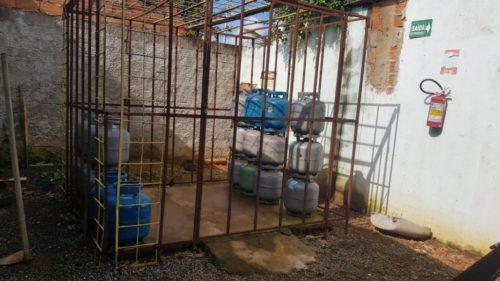 Operação Crepitus: Decon apreende botijões de gás vendidos ilegalmente
