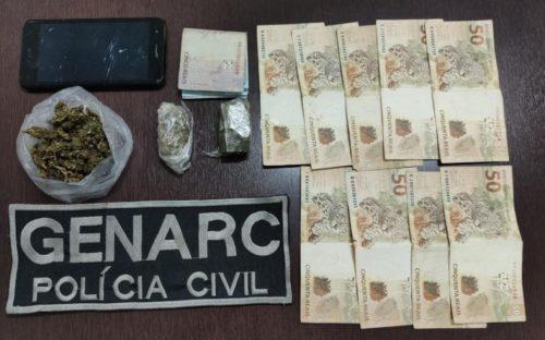 Homem é preso por tráfico no Setor Vila Maria, em Aparecida