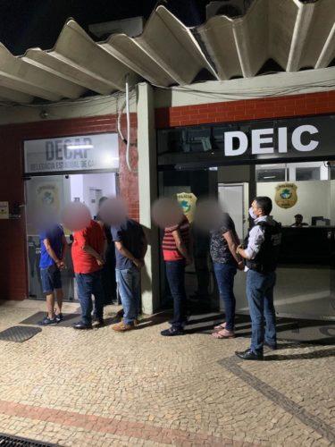 Polícia Civil prende cinco investigados por fraude milionária praticada contra banco