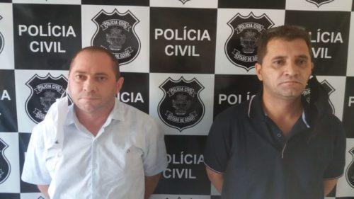 Dois são presos  em Jaraguá por corrupção ativa; dupla ofereceu dinheiro para não ser presa