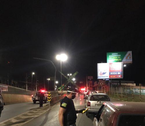 Operação Direção Consciente prende oito pessoas em flagrante por alcoolemia ao volante