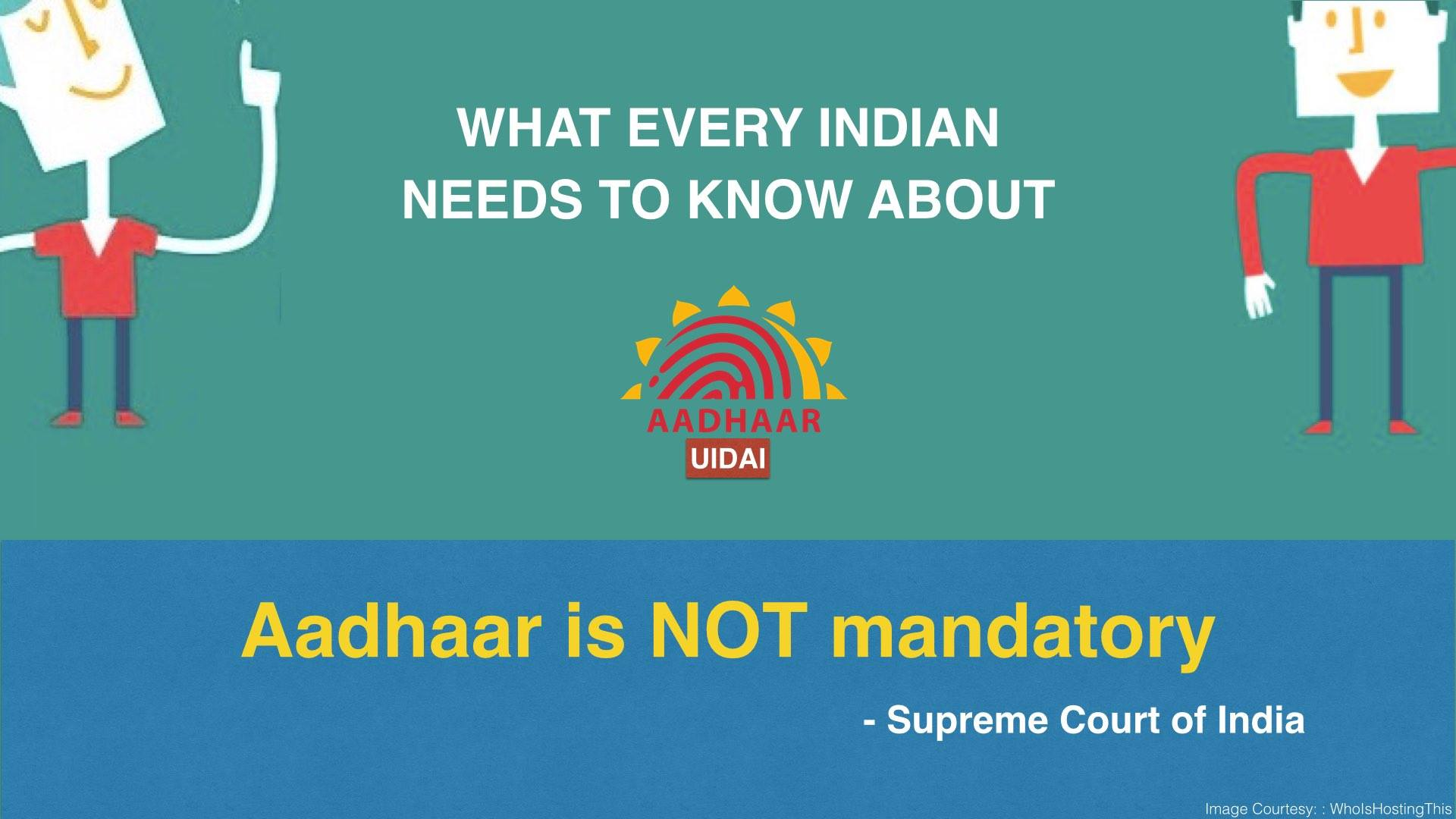 Aadhar is not Mandatory