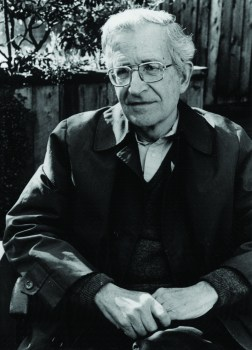 Noam Chomsky is an American linguist, philosopher, cognitive scientist, logician, political commentator, social justice activist, and anarcho-syndicalist advocate.