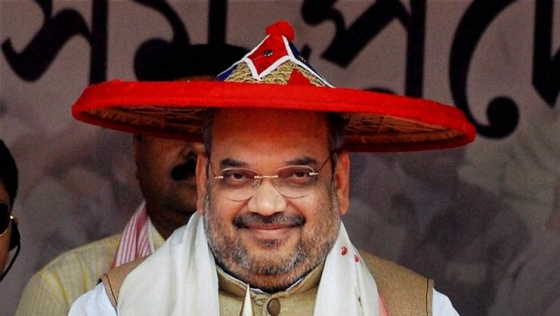 Amit Shah of BJP on capture Assam mission