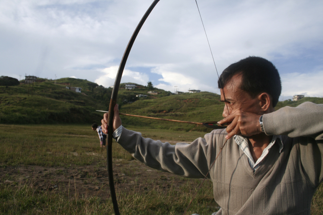 Steward Khongjee in his favourite past time