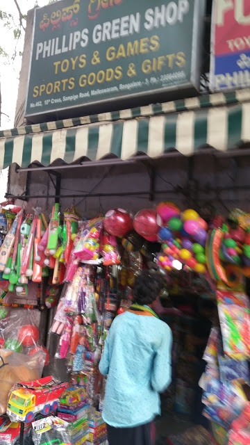 This well-known sports and toys store on Sampige Road has seen business drop by half since November 8