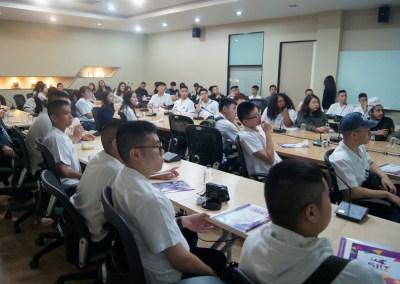 Grade 12 Students at Thammasat University (SIIT) Rangsit On November 20, 2017