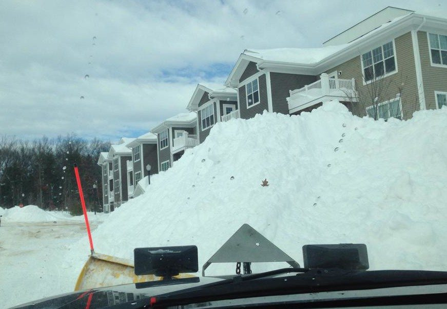 Commercial Snow Plowing in Nashua
