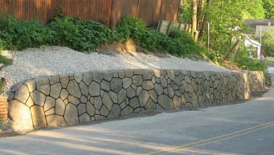 Retaining Wall in Hooksett NH