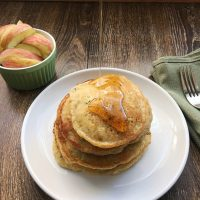 Zucchini Maple Pancakes by The Allergy Chef