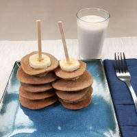 Mini Pancake Stacks by The Allergy Chef