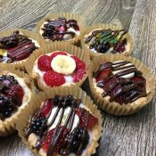 Fruit Pizza Cups by The Allergy Chef