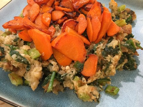 Carrots & Cauliflower Cookup by The Allergy Chef