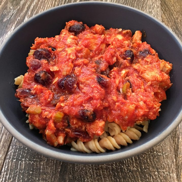Cranberry Tuna Pasta by The Allergy Chef