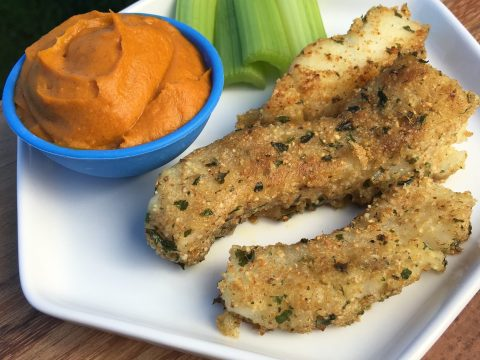 Fish Sticks & Dip by The Allergy Chef