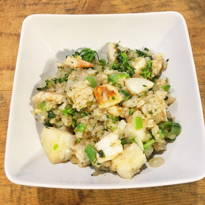 Seafood Fried Rice by The Allergy Chef