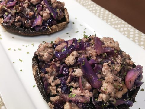 Pork & Purple Cabbage by The Allergy Chef