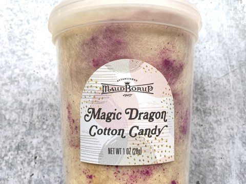 Magic Dragon Cotton Candy Review by The Allergy Chef