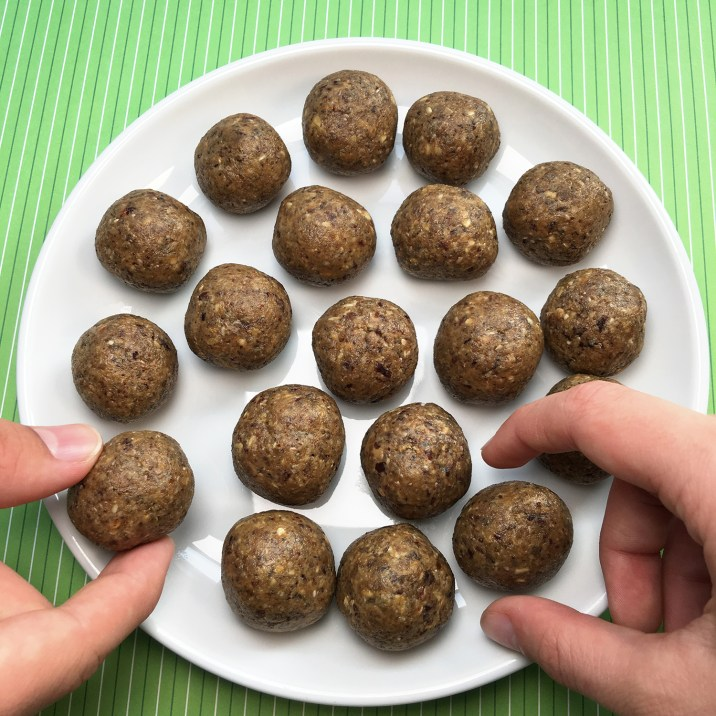 Corn Free Zego Power Balls by The Allergy Chef