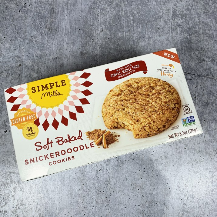 Simple Mills Soft Baked Snickerdoodle Cookie