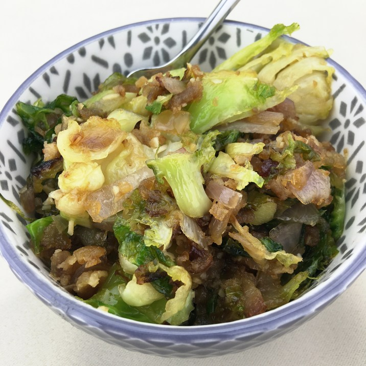 Brussels Sprouts & Onions by The Allergy Chef