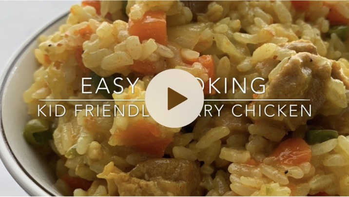Kid Friendly Curry Chicken by The Allergy Chef