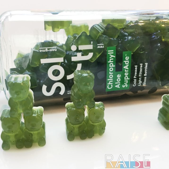 Green Gummy Bears by The Allergy Chef