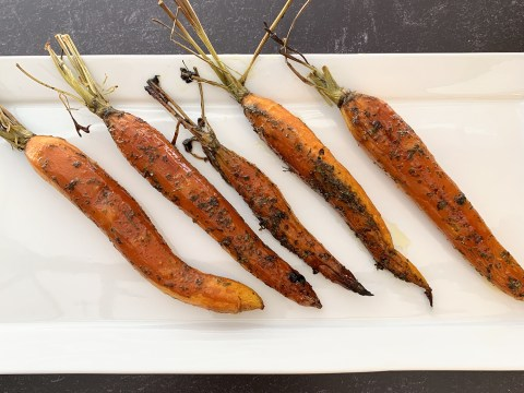 How To Oven Roast Carrots by The Allergy Chef