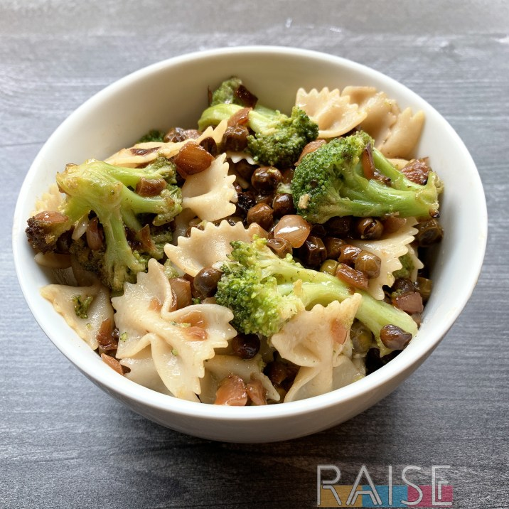 Gluten Free Vegan Veggie Delight Pasta by The Allergy Chef
