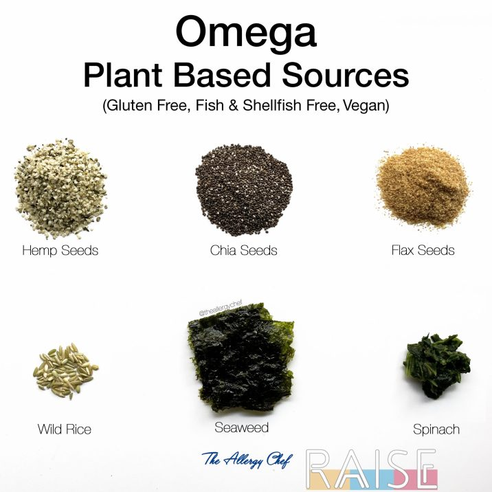 Fish Free Shellfish Free Vegan Sources of Omega by The Allergy Chef