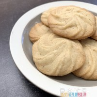Gluten Free, Vegan, Top 8 Free Danish Butter Cookies