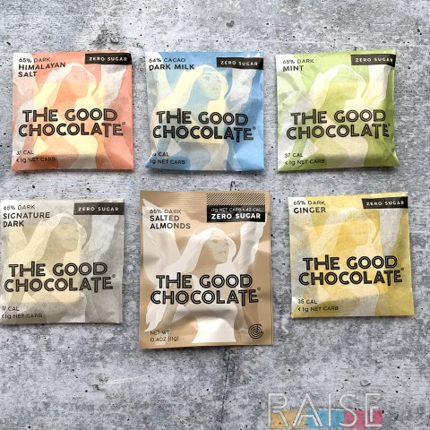 The Good Chocolate Mini Squares by The Allergy Chef