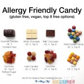Allergy Friendly Candies by The Allergy Chef