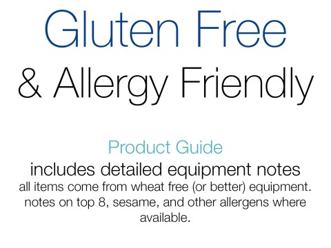 Gluten Free & Allergy Friendly Product Guide