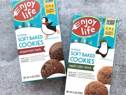 Enjoy Life Foods Holiday Cookies Review by The Allergy Chef