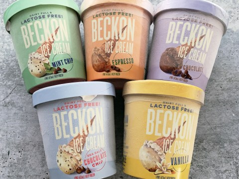 Beckon Lactose Free Ice Cream by The Allergy Chef