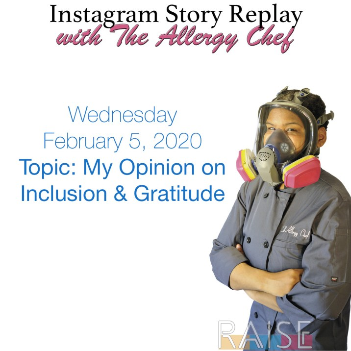 Opinion on Gratitude & Inclusion
